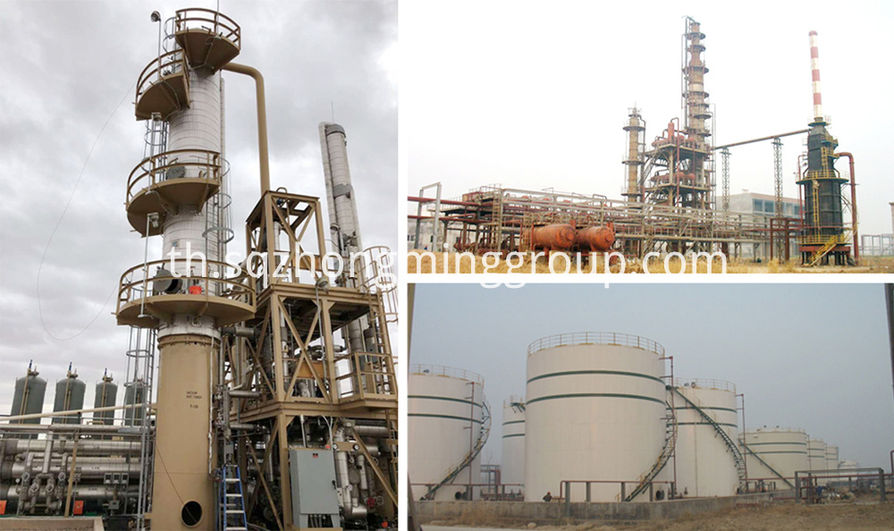Refinery Crude Oil Distillation Process